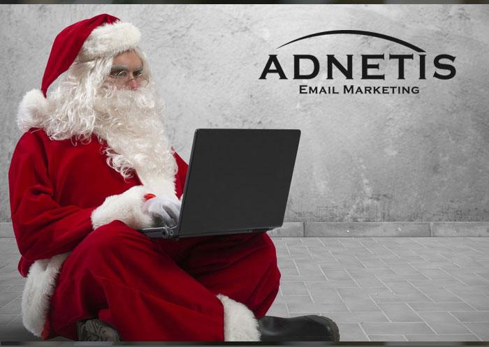 Père Noel envoi des infolettres